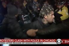 Vic Mensa Among Protestors Clashing With Chicago Police Over Laquan McDonald Shooting