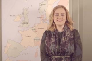 <em>25</em> Is On Pandora, Adele Announces European Tour