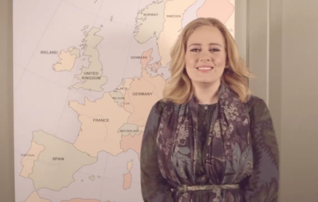 Adele Puts 25 On Pandora, Announces European Tour