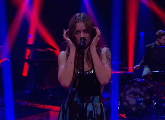 "Watch Tove Lo Perform ""Moments"" On James Corden"
