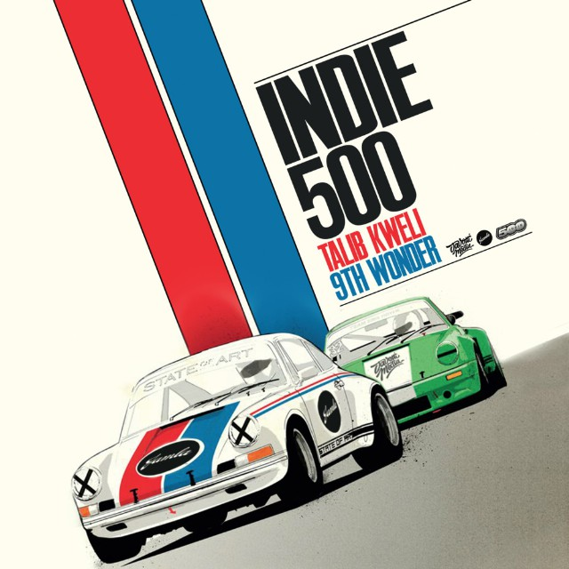 Talib Kweli and 9th Wonder - Indie 500