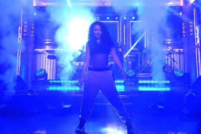 Tinashe on Fallon