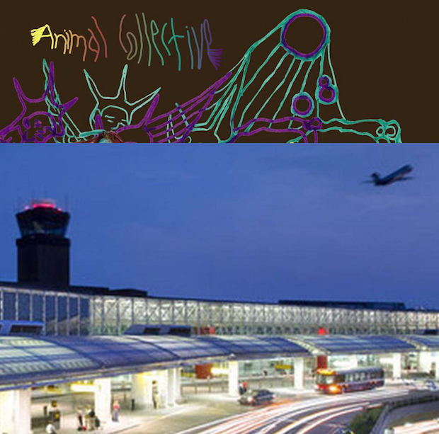 Animal Collective Are Debuting Their New Album At The Baltimore Airport Right Now
