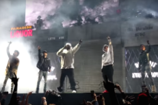 "Watch Big Sean Bring Out Eminem, Danny Brown, & DeJ Loaf For ""Detroit Vs. Everybody"" Hometown Performance"