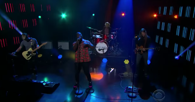"""Watch Bloc Party Perform """"The Love Within"""" On James Corden"""