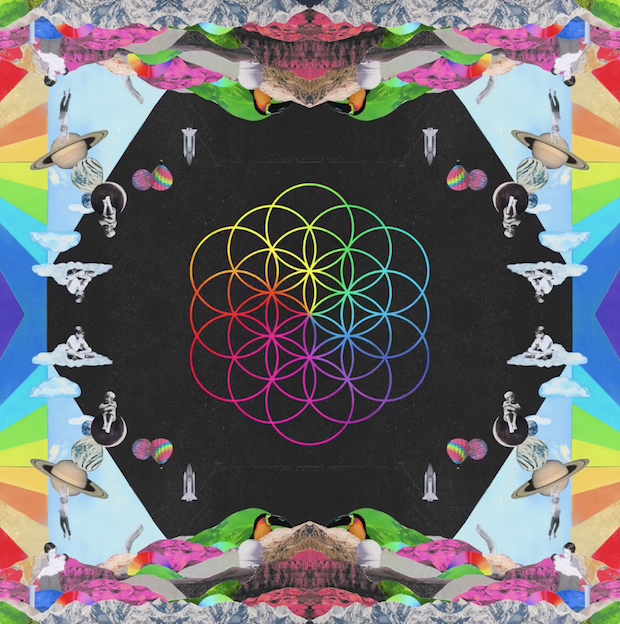 Coldplay Album Artwork
