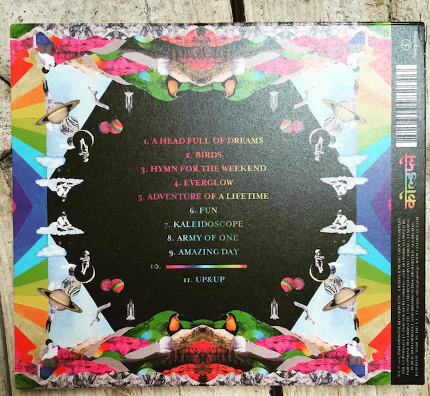 Coldplay Teasing Every Song From A Head Full Of Dreams On Instagram