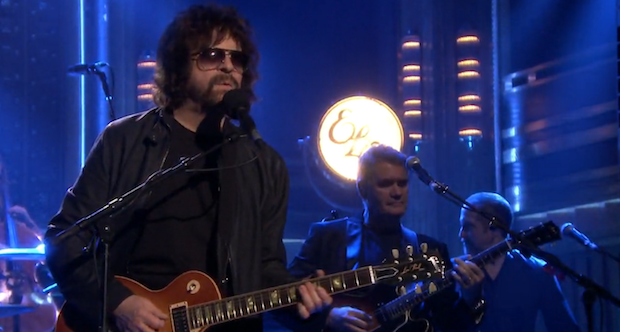 "Watch Jeff Lynne's ELO Perform ""Mr. Blue Sky"" And ""When I Was A Boy"" On Fallon"