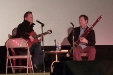 Watch Rainn Wilson Accompany Mark Kozelek On The Bassoon