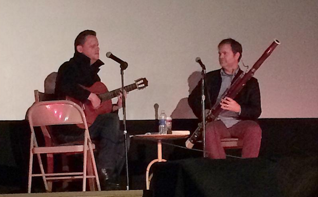 Watch Rainn Wilson Accompany Mark Kozelek On The Bassoon