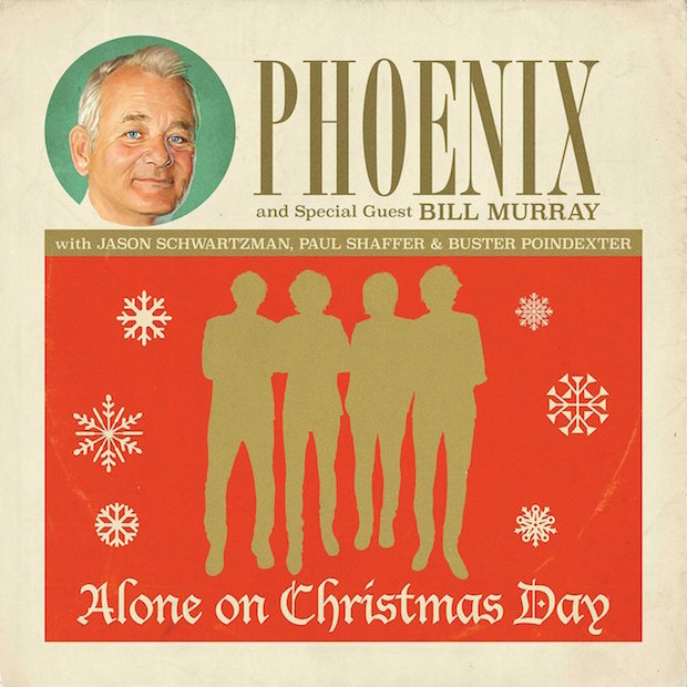 Phoenix And Bill Murray Team Up For Holiday 7″ - Stereogum