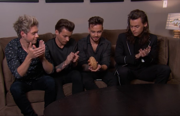 One Direction Replaced Zayn With A Potato