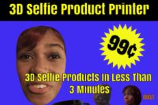 """Santigold Shares """"3D Selfie Product"""" Commercial, 99¢ Details"""