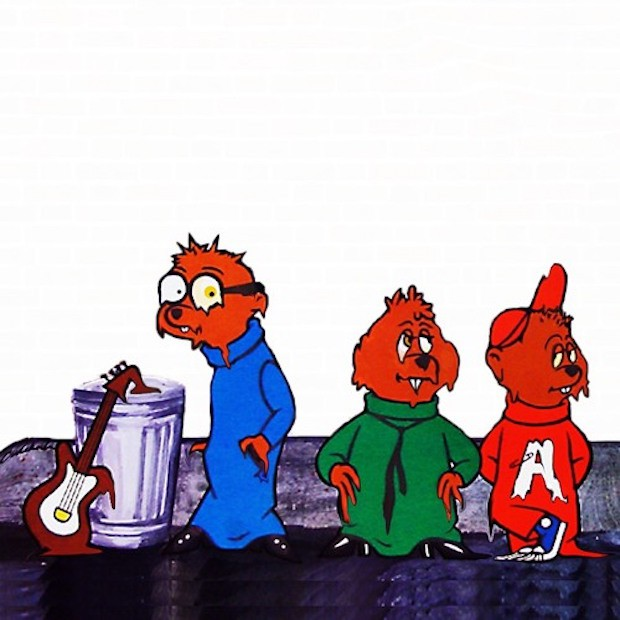Slowed-Down Alvin And The Chipmunks Makes Great Sludge Pop