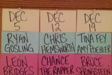 SNL's Next 3 Musical Guests: Leon Bridges, Chance The Rapper, & Bruce Springsteen