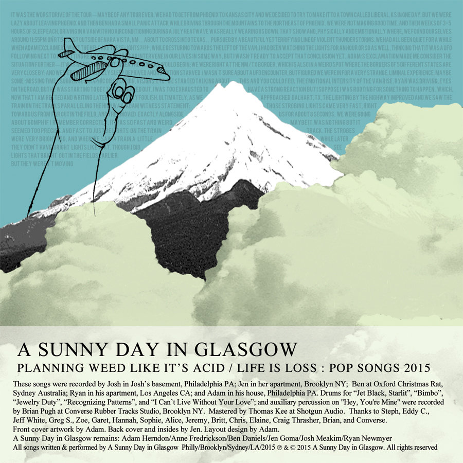 A Sunny Day In Glasgow - Planning Weed Like It's Acid / Life Is Loss