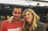 Watch Adam Sandler Sing With Courtney Love, Vanilla Ice, & Gene Simmons At Hollywood's Randomest Holiday Party