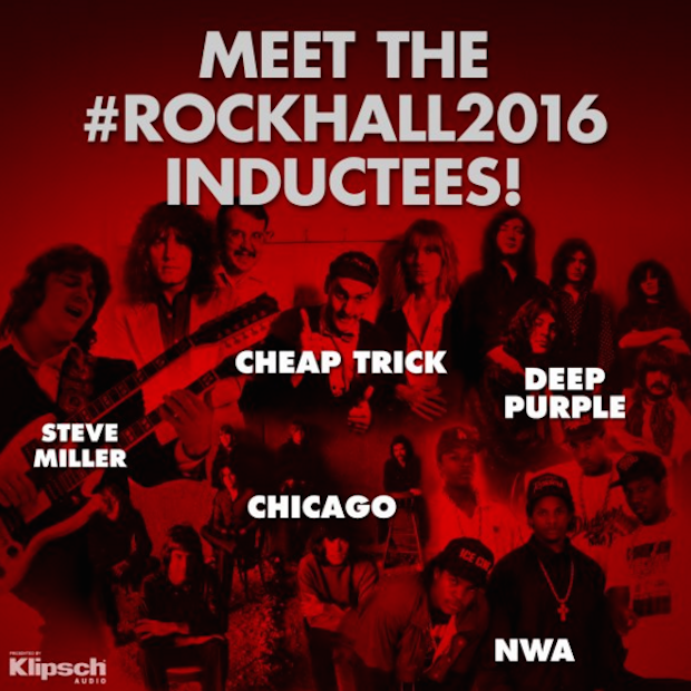 2016 Rock And Roll Hall Of Fame inductees