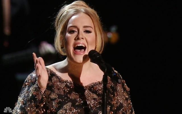Adele at Radio City