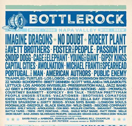 BottleRock Poster