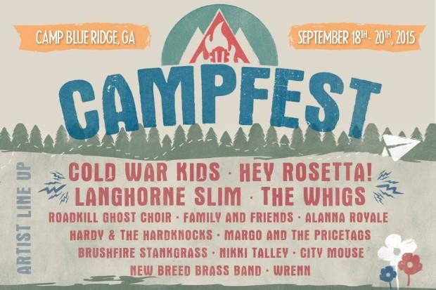 Campfest poster