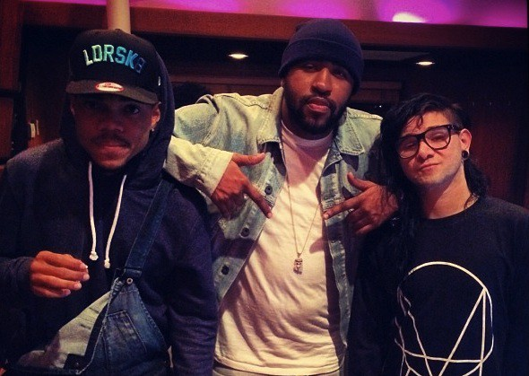Chance The Rapper and Skrillex
