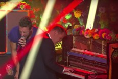 Watch James Corden Perform With Coldplay On <em>The Late Late Show</em>