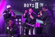 Watch Fall Out Boyz II Men Play <em>Kimmel</em>&#8217;s Mash Up Monday