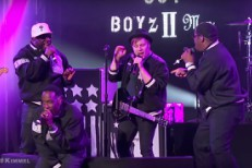 Watch Fall Out Boyz II Men Play <em>Kimmel</em>&#8217;s Mash Up Monday