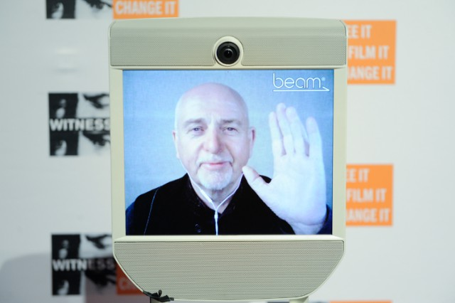 Skype The Monkey: Peter Gabriel Buys Apes Video Conferencing Equipment