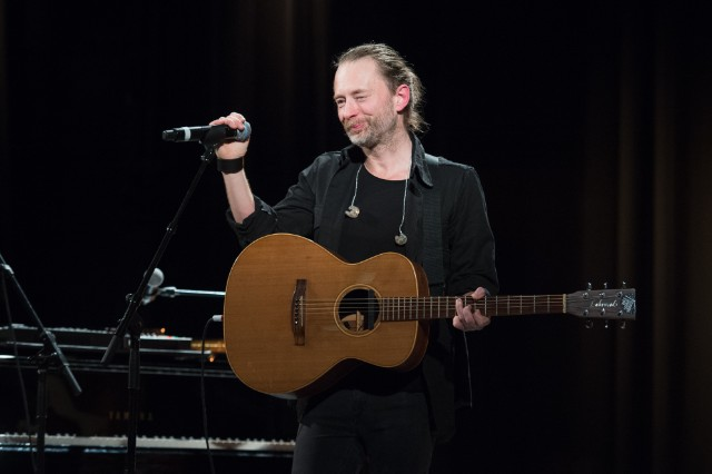Thom Yorke @ Pathway To Paris Event At Le Trianon In Paris
