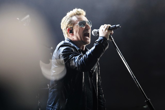 U2 Pay Tribute To Terror Victims In Paris