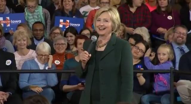 Hilary Clinton Beyonce Question