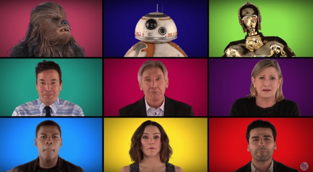 Jimmy Fallon and Star Wars