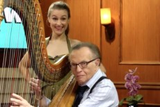 Joanna Newsom and Larry King