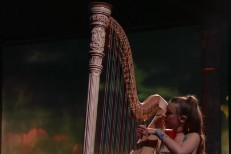 Watch Joanna Newsom&#8217;s Dazzling <em>Colbert</em> Performance