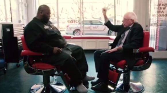 Killer Mike and Bernie Sanders