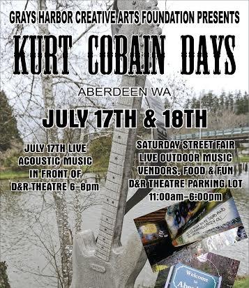Kurt Cobain Days poster