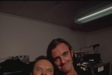 Lars Ulrich and Lemmy