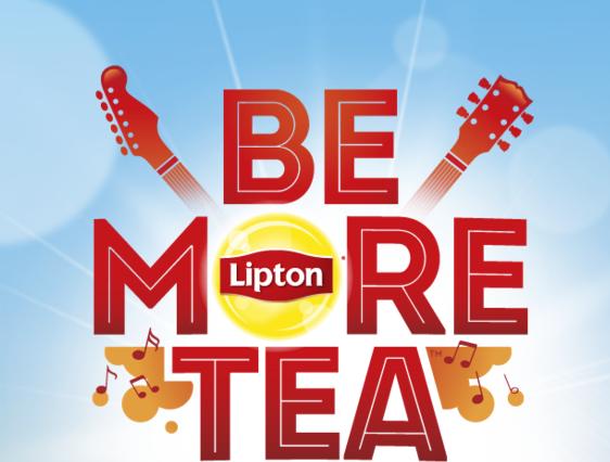 Liptons Be More Tea Poster