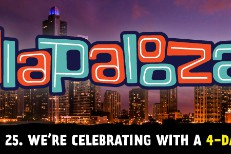Lollapalooza Expanding To 4 Days Next Year In Honor Of 25th Anniversary