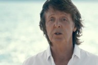 Paul McCartney, Natasha Bedingfield, & Sean Paul's New Video Is Not Going To Save the Planet