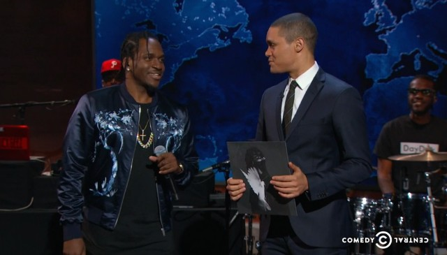 Pusha T on The Daily Show