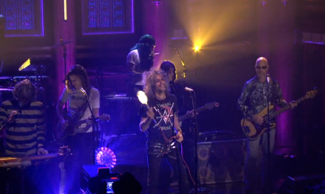 Flaming Lips on Fallon video