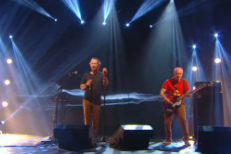 Watch Thom Yorke & Flea Perform And Chat On <em>Le Grand Journal</em>