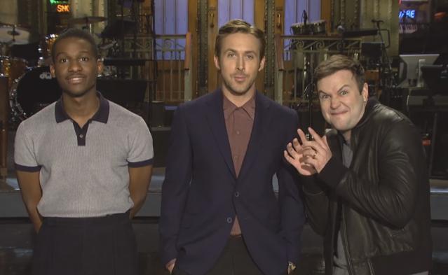 Watch Ryan Gosling Audition For Leon Bridges In Their SNL Promos