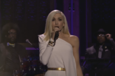 "Watch Gwen Stefani Perform ""Used To Love You"" With The Roots On Fallon video"
