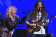 Watch Kurt Vile & Cyndi Lauper Cover The Rolling Stones At Home For The Holidays Benefit
