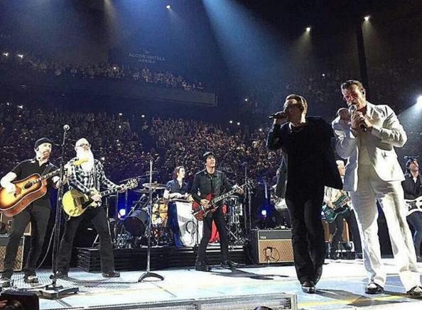 U2 with Eagles Of Death Metal