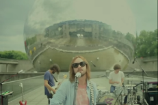 "Watch Tame Impala Play ""Let It Happen"" In Front Of A Mirrored Geodesic Dome"